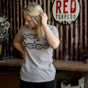 Chainslack Titanium Grey T-Shirt Ladies