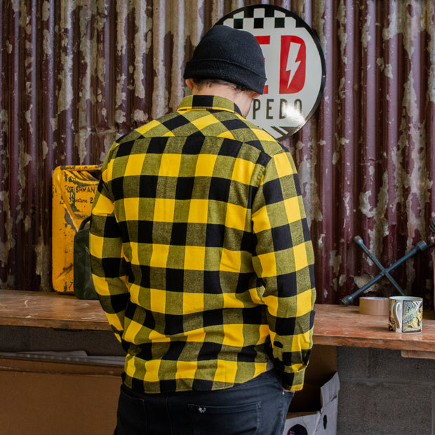 LIMITED EDITION | V Twin 2020 (Mens) Mustard/Black Shirt