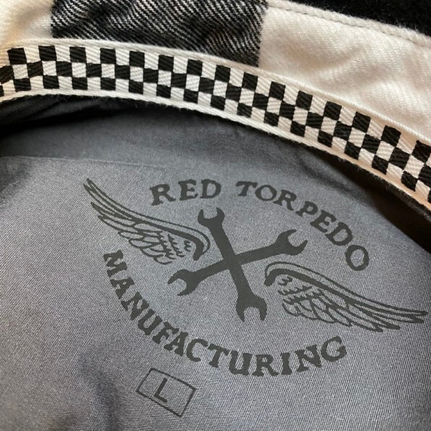 Red Torpedo LIMITED EDITION | V Twin 2020 (Mens) White/Black Shirt