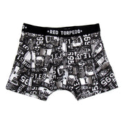 Roadtrip Underwear (Mens) White/Black Single Pack