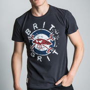 Guy Martin Brit Grit Bandit Black (Mens) T-shirt