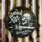 Ton Up Clothing Boneshaker Glemseck 101 Special Edition Garage Plate