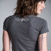Lee Johnston F13K Cancer Graphite (Ladies) T-shirt