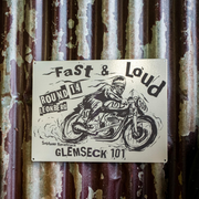 Ton Up Clothing Fast & Loud Glemseck 101 Special Edition Garage Plate