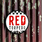 Red Torpedo 2020 Round Garage Plate
