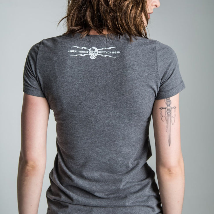 Glemseck Candy (Womens) T-Shirt Graphite