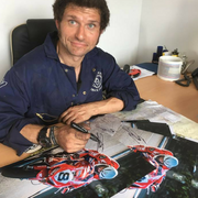Hand Signed Guy Martin 'Eyes on the Prize' Colour Photo