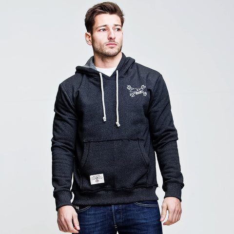 Retro Racing (Mens) Zip Hoodie