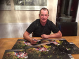 Hand Signed John McGuinness 'Out of the Darkness' Photo