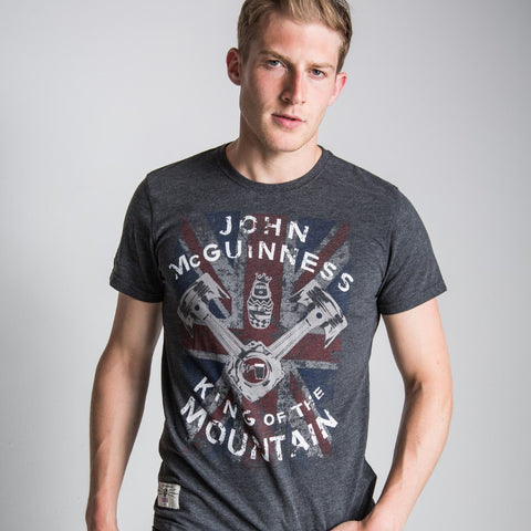 King of the Road(Mens) Anthracite T-Shirt