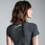 King of the Road (Ladies) Anthracite T-Shirt