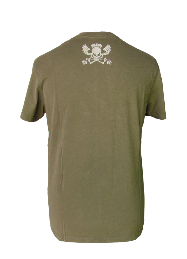 Bumpy Ride (Mens) Khaki T-Shirt