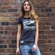 Red Torpedo Ace Cafe Live to Roll (Ladies) T- Shirt