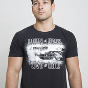 Ace Cafe London Live to Roll (Mens) T-Shirt