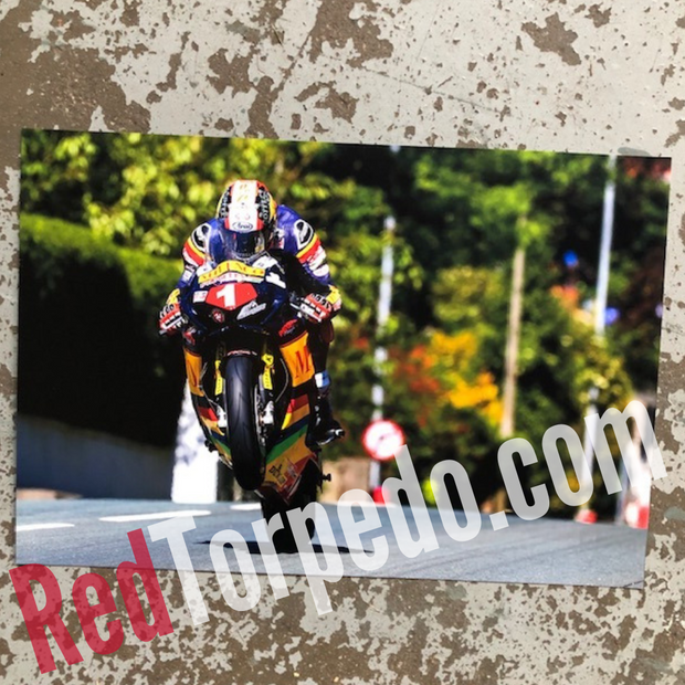 Connor Cummins Flying Manxman Photo TT 2019