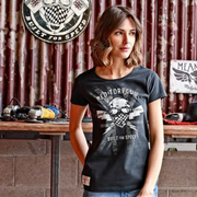 Patriot Black T-Shirt Ladies