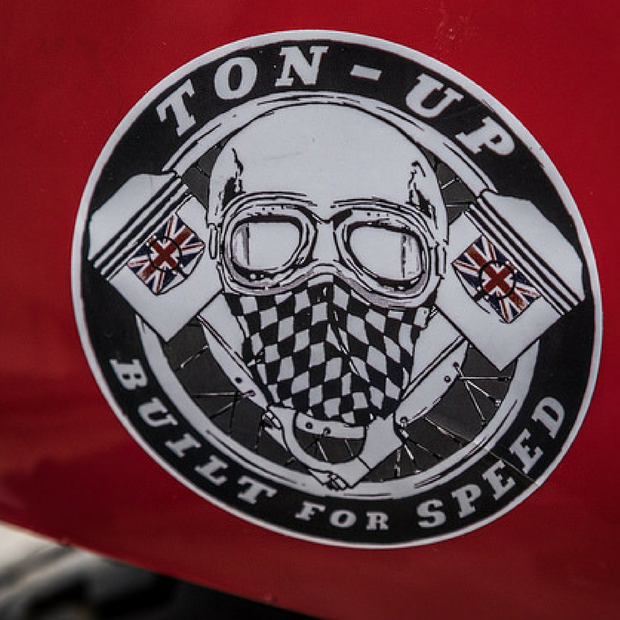 Ton Up Sticker