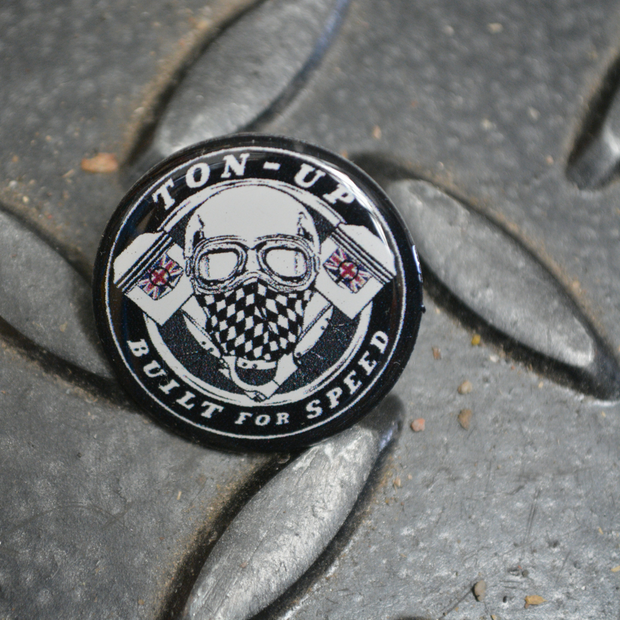 Ton Up Clothing Pin Badge