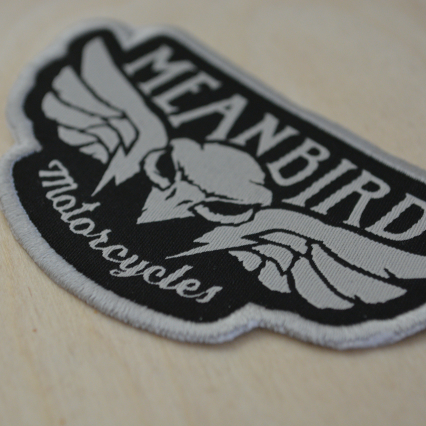 Mean Bird Motorcycles Patch