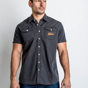 Red Torpedo Velocette (Mens) Short Sleeve Shirt