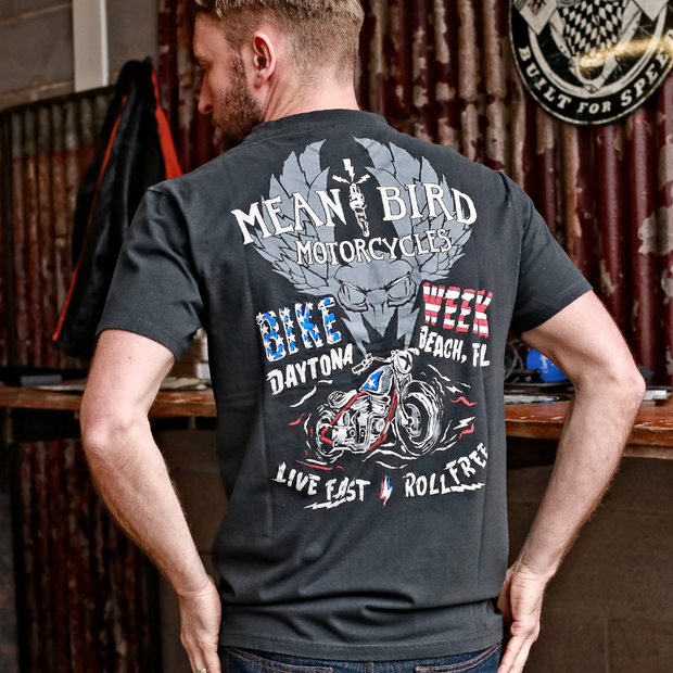 MBM DBW Beach Hog (Mens) Black T-Shirt