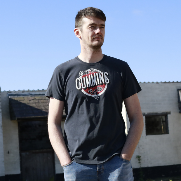 Red Torpedo Conor Cummins '2019cc' (Mens) Black T-Shirt