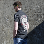 Speed Punk Black Denim (Mens) S/S Shirt