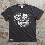 Glemseck Bone Shaker (Mens) Pirate Black T-Shirt
