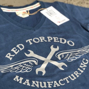 RT Manufacturing (Ladies) T-Shirt Blue