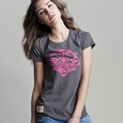 Petrolhead (Ladies) Graphite T-Shirt
