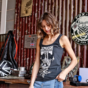 Glemseck Pistonhead (Ladies) Black Vest
