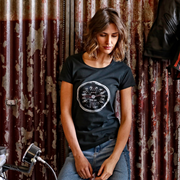 TUC 'Do The Ton' (Ladies) Black T-Shirt