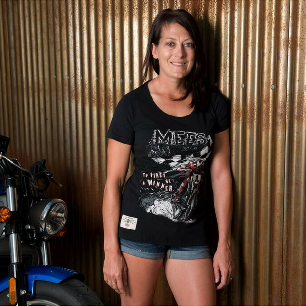 Jared Mees 'Hate to Lose' (Ladies) T-Shirt