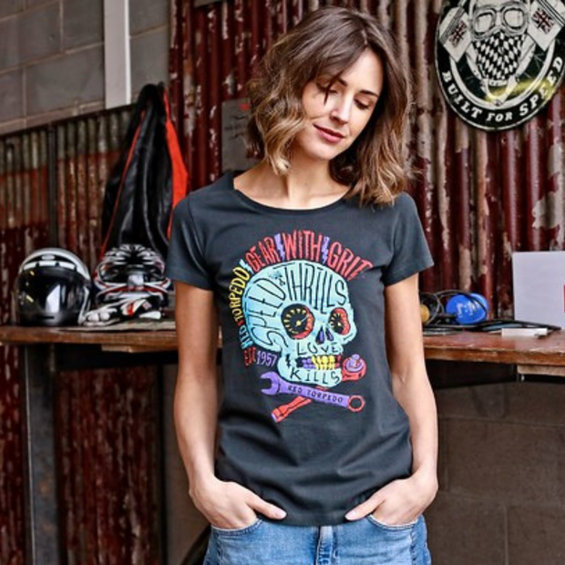 Acid Punk T-Shirt Ladies