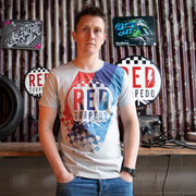 Red Torpedo Heritage 89 (Mens) Grey Marl T-Shirt
