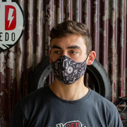 Red Torpedo Face Mask