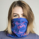 Guy Martin Spannerskull Blue/Pink Buff