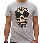 Bonehead (Mens) Grey Marl T-Shirt