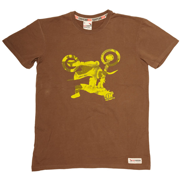 Freddy Freestyle (Mens) Brown T-Shirt