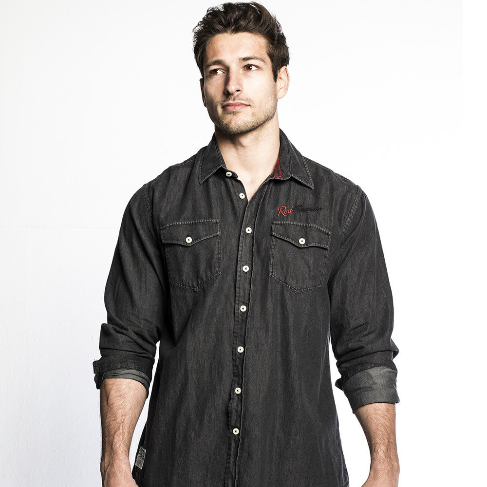 Garage (Mens) Long Sleeve Shirt