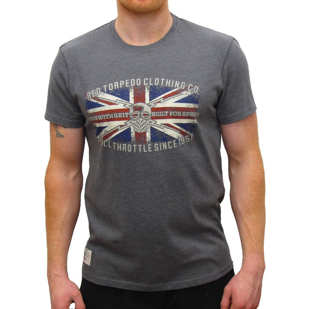 Gear with Grit Blighty T-Shirt - Graphite