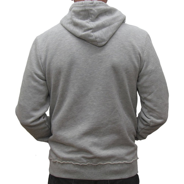 Primo Gear with Grit Hoodie - Grey Marle