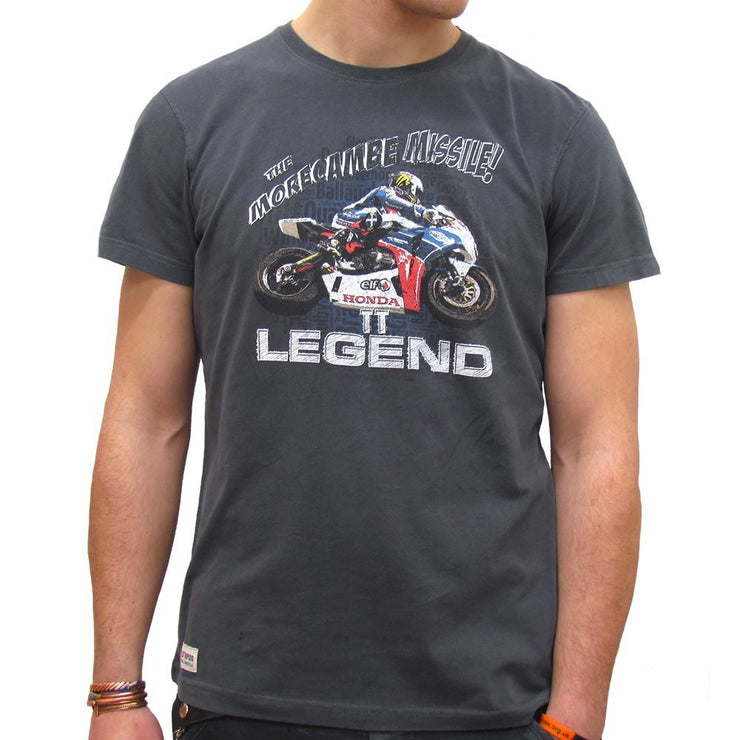 John McGuinness Honda TT Legends (Mens) T-Shirt
