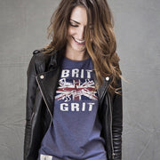 Guy Martin Brit Grit (Womens) Blue Marl T-Shirt