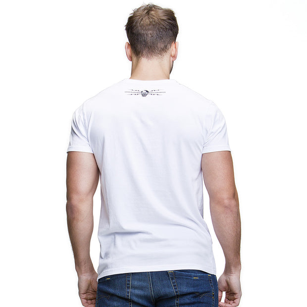 Live to Ride (Mens) White T-Shirt