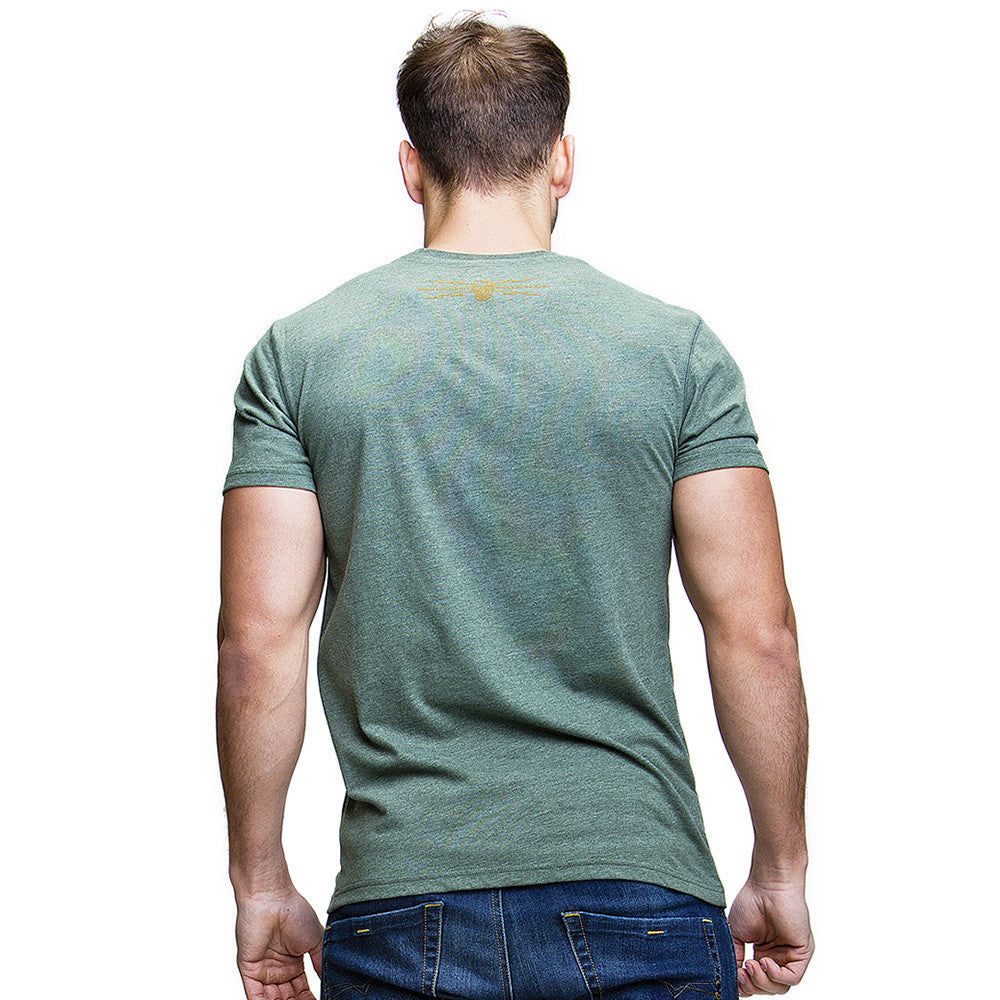 Made to Work (Mens) Racing Green T-Shirt