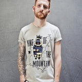 John McGuinness King of the Mountain (Mens) T-Shirt