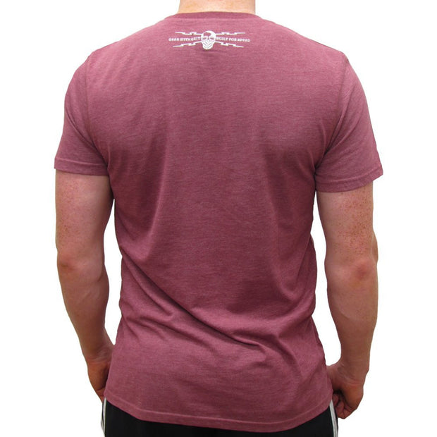 Road Tested 2014 (Mens) Burgundy T-Shirt