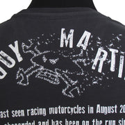 Guy Martin Wanted 2017 (Mens) Black T-Shirt