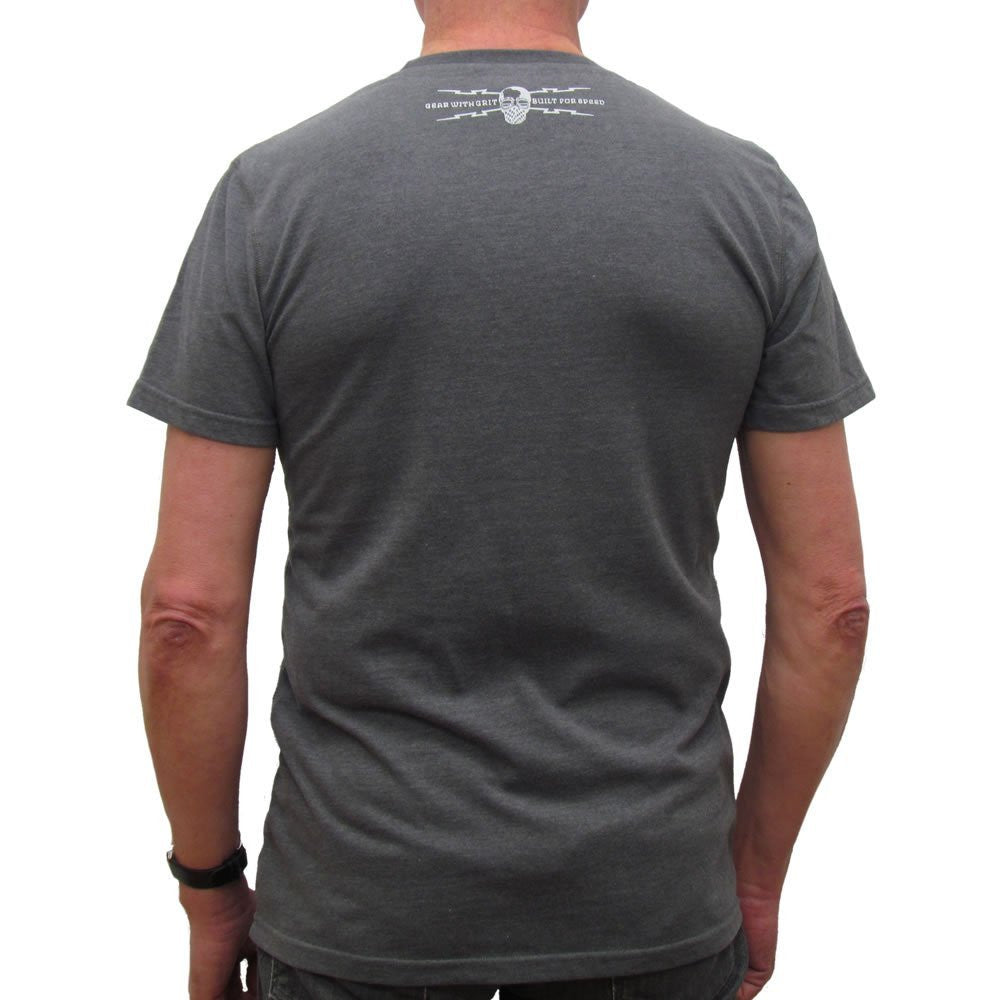Petrolhead (Mens) Graphite T-Shirt